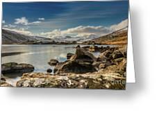 Snowdon From Llynnau Mymbyr Greeting Card