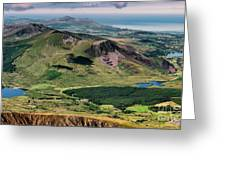 Snowdon Moutain View Greeting Card