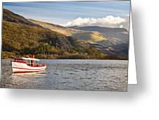 Snowdon Star Greeting Card