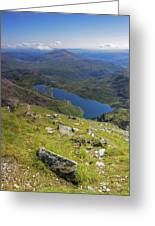 Snowdon View Greeting Card