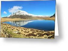 Snowdonia Panorama Greeting Card