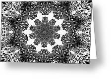 Snowflake 13 Greeting Card