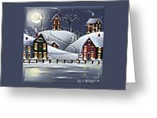 Snowflake Cove Greeting Card