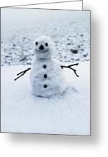 Snowman 1 Greeting Card