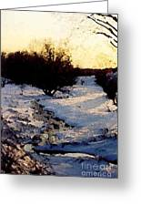 Snowmelt Greeting Card