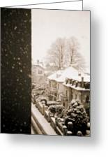 Snowy Afternoon Greeting Card