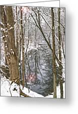 Snowy Creek Greeting Card