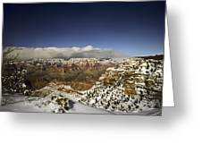 Snowy Grand Canyon Greeting Card