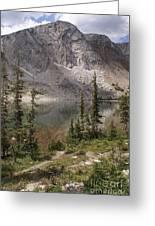 Snowy Mountain Loop 6 Greeting Card