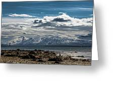 Snowy Mountains Greeting Card
