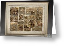 Snowy Range Life - Large Relief Panel Greeting Card