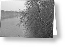 Snowy River        Landscape          Indiana Greeting Card
