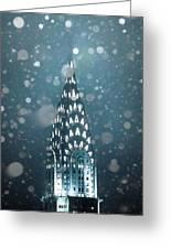 Snowy Spires Greeting Card
