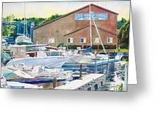 Snug Harbor II Greeting Card