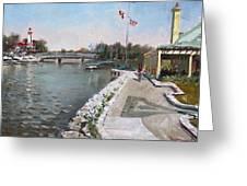 Snug Harbour Restaurant Greeting Card