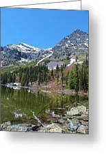 Snyder Lake Greeting Card
