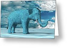 So Blue Without You Greeting Card