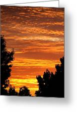 So Cal Sunset Greeting Card