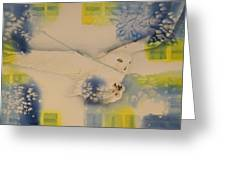 S.o. Cold Greeting Card