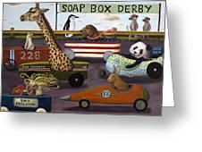 Soap Box Derby Greeting Card