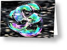 Soap Bubble Mania #1 Greeting Card