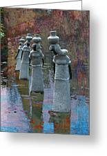 Soapstone Sculptures  Greeting Card