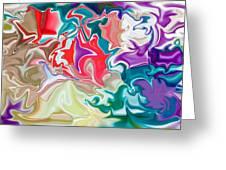 Soapy Car Shampoo Greeting Card