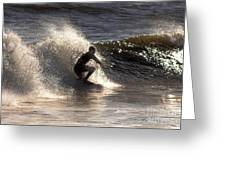 Socal Surfing Greeting Card