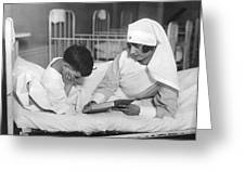 Society Girls Volunteer Time Greeting Card