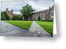 Sociology-psychology Building At Duke University Greeting Card