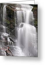 Soco Falls North Carolina Greeting Card
