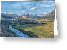 Soda Butte Greeting Card