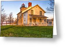 Sodus Point Lighthouse And Museum Greeting Card