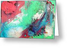 Soft Abstract Greeting Card