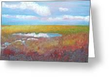 Soft Marsh Greeting Card