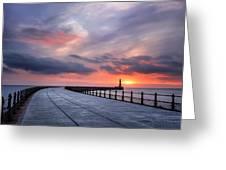 Soft Morning Light Greeting Card