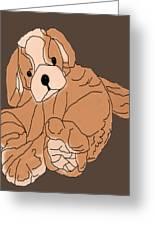 Soft Puppy Greeting Card