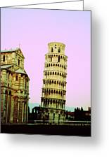 Softly Pisa Greeting Card