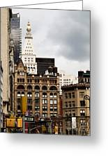 Sohmer Piano Building And Flatiron District  Greeting Card