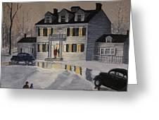 Soiree At Billings Estate Greeting Card