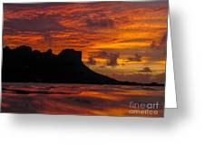 Sokeh's Rock Sunset Greeting Card