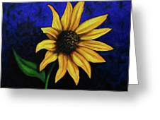 Sol Flower Greeting Card
