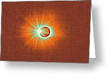 Solar Eclipse, 33 Greeting Card