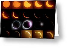 Solar Eclipse - August 21 2017 Greeting Card