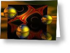 Solar Eclipse Greeting Card by Sandra Bauser Digital Art