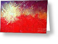 Solar Explosion Greeting Card