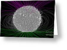 Solar Magnetic Field Greeting Card