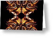 Solar Moth Greeting Card