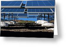 Solar Panels In Connecticut  Greeting Card
