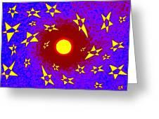 Solar Radiation Greeting Card